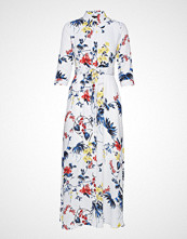 Banana Republic I Savannah Maxi Dress Floral Tropical Blooms Maxikjole Festkjole Hvit Banana Republic