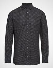 Sand 8507 - Iver Soft Skjorte Uformell Blå SAND