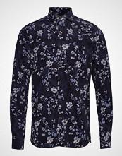 Morris Matteo Spread Collar Shirt Skjorte Uformell Blå Morris