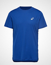 Asics Silver Ss Top T-shirts Short-sleeved Blå Asics