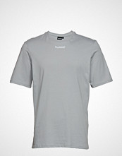 Hummel Hive Hmlalvar T-Shirt S/S T-shirts Short-sleeved Grå Hummel Hive