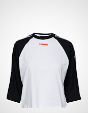 Hummel Hive Hmlaida T-Shirt S/S T-shirts & Tops Long-sleeved Hvit Hummel Hive
