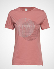 Boss Casual Wear Temoire T-shirts & Tops Short-sleeved Rosa Boss Casual Wear