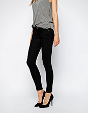 Mango Supersoft Skinny Jean - Black