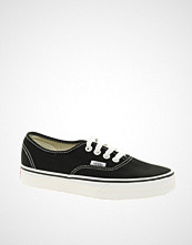 Vans Authentic Classic Black and White Lace Up Trainers