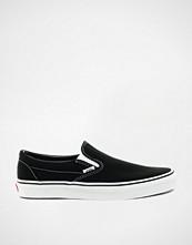 Vans Classic Black Slip On Trainers