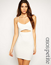ASOS Petite Exclusive Textured Bodycon Dress with Cut Out