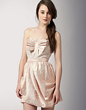 Sretsis Strapless Bow Truffle Dress