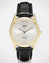 Casio LTP-1154PQ-7AEF Gold Face Croc Watch
