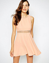 Bcbgeneration Party Dress with Lace Insert