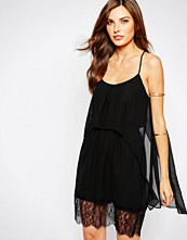 Bcbgeneration BCBG Generation Tank Dress With Lace Hem