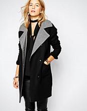Vero Moda Contrast Collar Coat