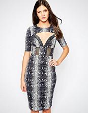 stylestalker Style Stalker Dance Dress in Snake Print