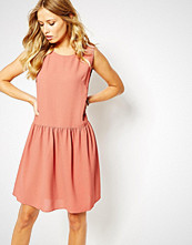Boss Orange Drop Waist Apiumi Dress in Pink