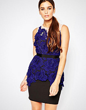 Adelyn Rae Lace Applique Dress