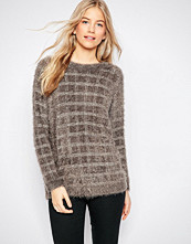 Ganni Claudia Checked Knit Jumper
