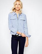 Pepe Jeans Suede Zip Up Jacket