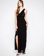 Studio 75 Manna Wrap Panel Maxi Dress