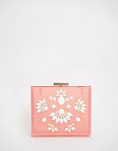Skinnydip Occasion Box Clutch Bag in Pastel Pink
