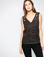 Vila Lace Cut Out Top