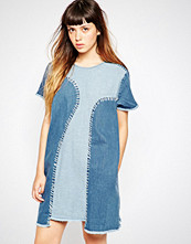 House of Holland A-Line Denim Dress