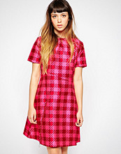 House of Holland Gingham Panel Dress