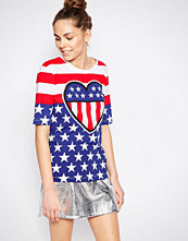 Love Moschino Love In The USA T-shirt