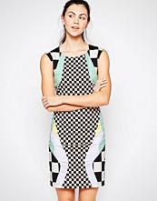 Love Moschino Checkered Mini Dress