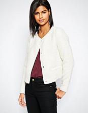 Vero Moda 3/4 Sleeve Button Front Jacket