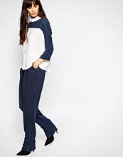 Just Female Gibbs Loose Pant in Blue