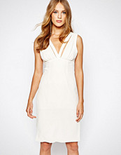 Bcbgeneration Band Detail Midi Dress in White