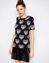 Love Moschino American Heart T-Shirt