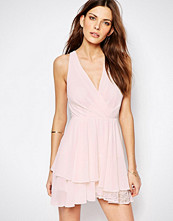 Bcbgeneration Swing Dress with Lace Detail