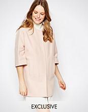 Helene Berman Kimono Coat In Light Pink
