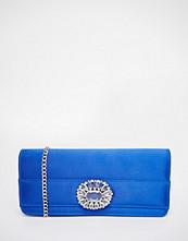 Carvela Jewelled Envelope Clutch Bag