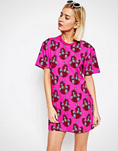 House of Holland Cactus Print T-Shirt Dress