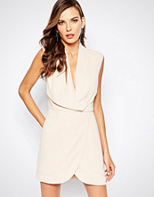 Finders Keepers Dreaming Of You Dress in Nude