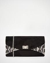 Carvela Snake Mix Envelope Clutch Bag