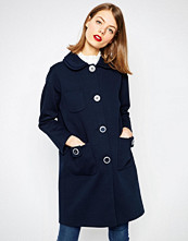 ASOS Oversized Coat with Double Collar