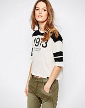Pepe Jeans Donna Varsity 3/4 Sleeve T-Shirt