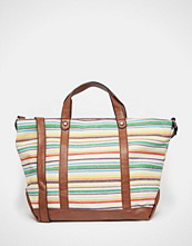 Liquorish Stripe Shoulder Bag