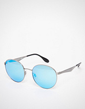Ray-Ban Round Blue Mirror Sunglasses