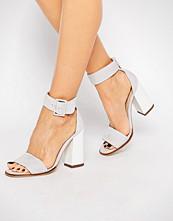 Carvela 2 Part Grey Suede Sandal
