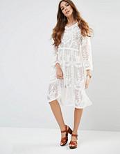 Raga Afternoon Affair Sheer Embellished Midi Dress