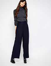 Just Female Triba Loose Pants in Navy