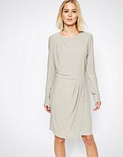 Selected Milan Dress with Drape Skirt