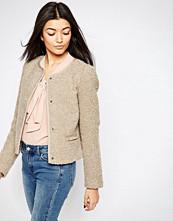 Vero Moda 3/4 Sleeve Press-Stud Jacket