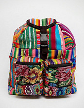 Hiptipico Small Backpack With Embroidery