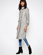 ASOS Trench Coat in Linen