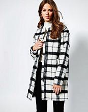 Ichi Grid Print Jacket
